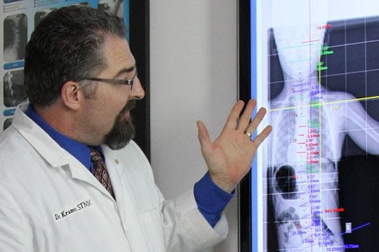 Chiropractor Glencoe MN Dr Kurt Kramer X-Ray Review